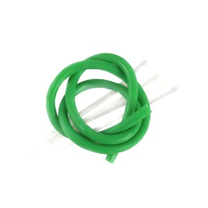 Náhradní guma do praku 50 cm 7/4 mm zelená