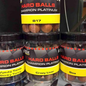 Boilie Rapid Hard Balls Champion Platinum - Devil Squid 24 mm 150 g
